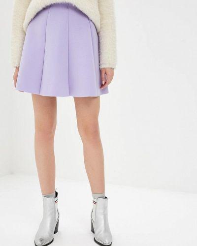 Юбка широкая фиолетовый Modis
