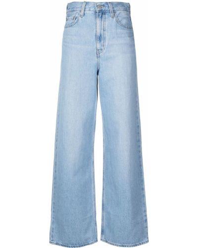 Синие широкие джинсы с высокой посадкой с карманами Levi's®