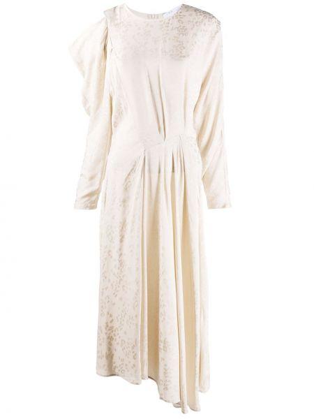Расклешенное платье миди с вырезом из вискозы Iro