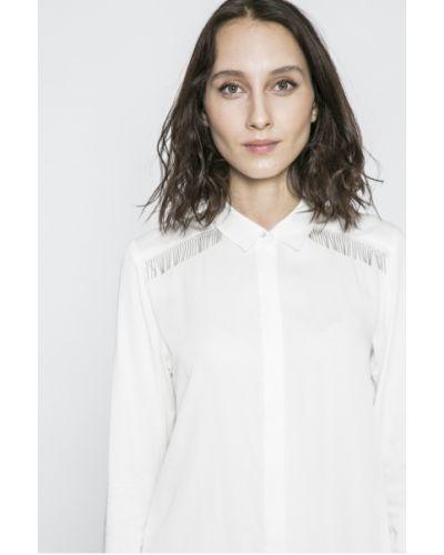 Белая блузка оверсайз Answear
