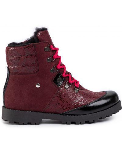 Ботинки - бордовые Bartek