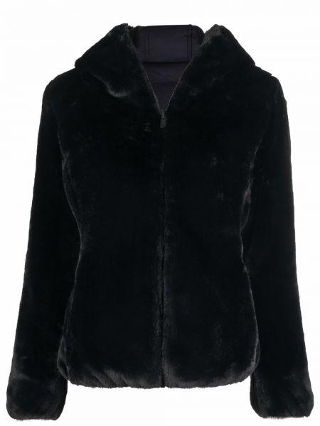 Куртка с капюшоном - черная Save The Duck