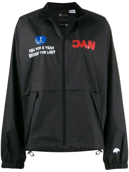 Длинная куртка - черная Adidas Originals By Alexander Wang