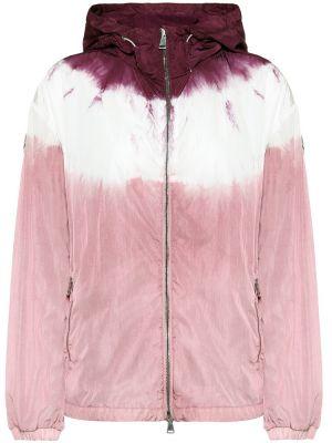 Розовая куртка Moncler