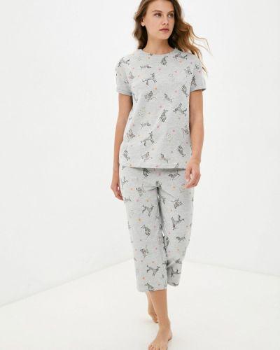 Серая пижама Marks & Spencer