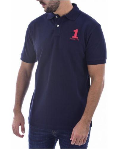Niebieska koszulka Hackett