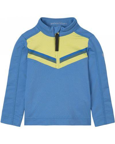 Синяя флисовая рубашка Poivre Blanc