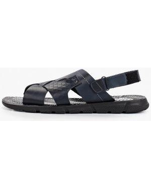 Синие сандалии из нубука Nexpero