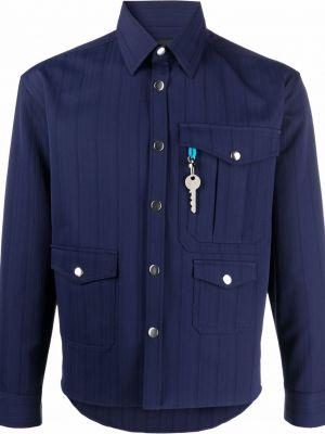Niebieska koszula z długimi rękawami Viktor & Rolf