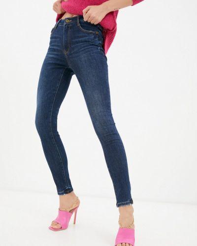 Синие зимние зауженные джинсы Miss Sixty
