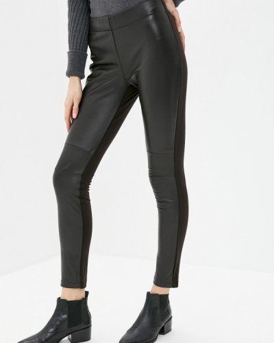 Кожаные коричневые брюки Alpha Studio