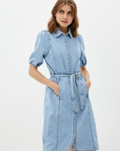 Джинсовое платье - голубое B.young
