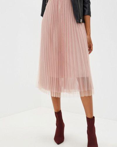 Плиссированная юбка розовая Glam Goddess