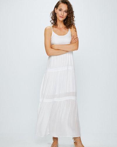 Платье макси в стиле бохо шелковое Answear