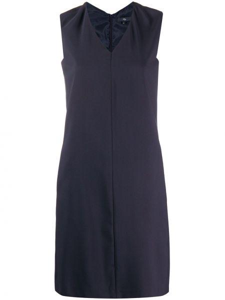 Платье с V-образным вырезом на молнии Fay