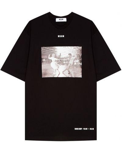 Платье мини миди футболка Msgm