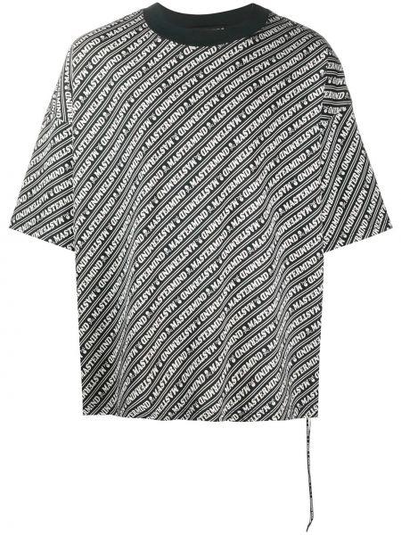 Koszula krótkie z krótkim rękawem w paski z paskami Mastermind World