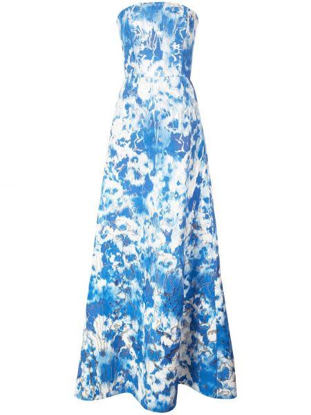 Вечернее платье на молнии Carolina Herrera