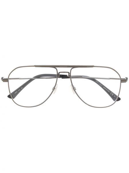 Prosto srebro oprawka do okularów metal Jimmy Choo Eyewear