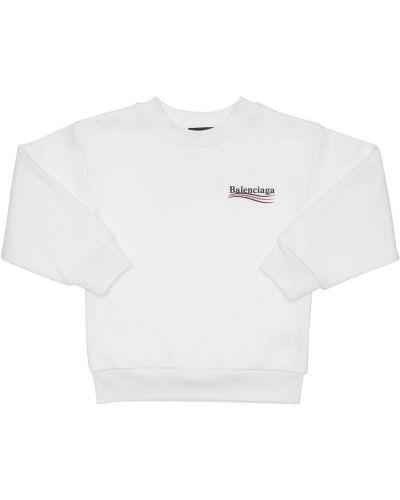 Bluza z logo Balenciaga
