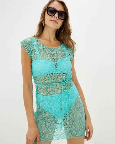Бирюзовое пляжное платье Winzor