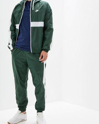 Спортивный костюм зеленый Nike