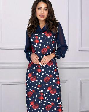 Вечернее платье с цветочным принтом платье-сарафан Charutti