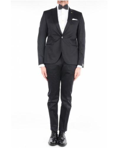 Czarny garnitur Manuel Ritz