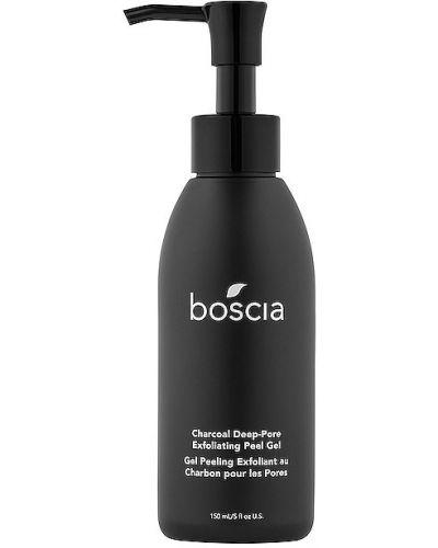 Черный кожаный пилинг для лица Boscia