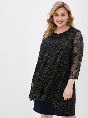 Черное вечернее платье Malena