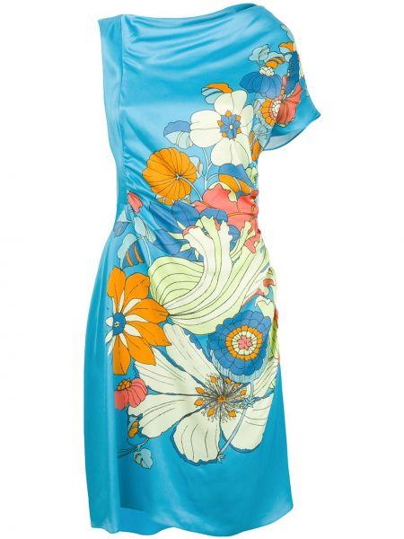 Платье с цветочным принтом на молнии Peter Pilotto