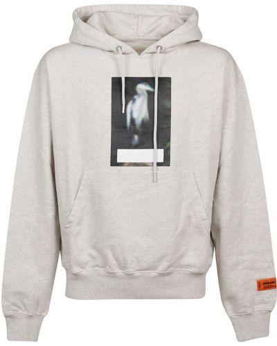 Sweter oversize - szary Heron Preston