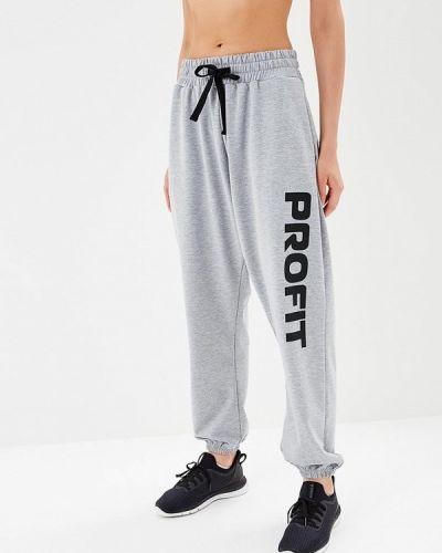 Спортивные брюки серые Profit