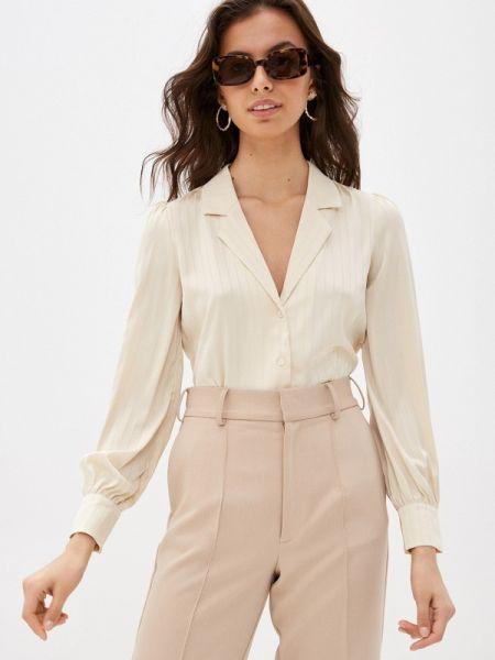 Блузка с длинным рукавом весенний бежевый Ovs