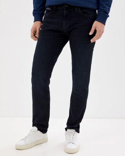 Синие зауженные джинсы-скинни Mavi