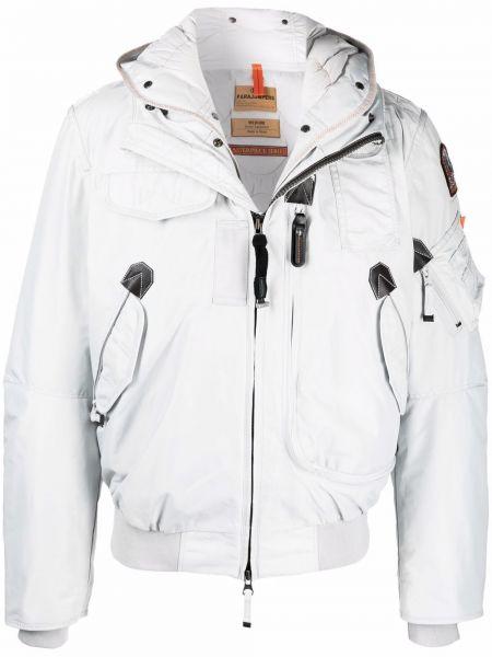 Белая куртка на шпильке Parajumpers