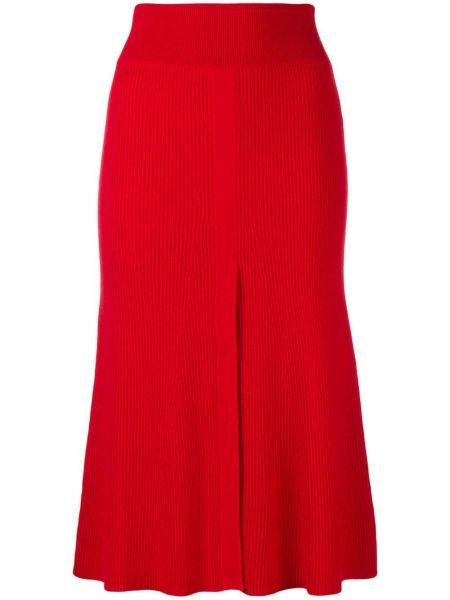 Приталенная расклешенная юбка с поясом Cashmere In Love