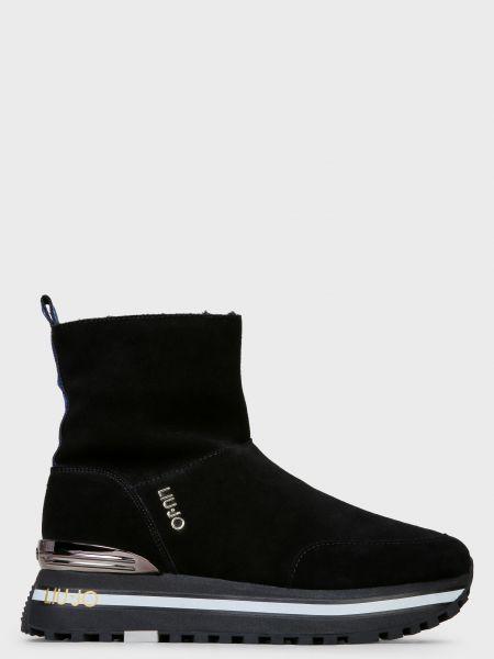 Ботинки на платформе - черные Liu Jo