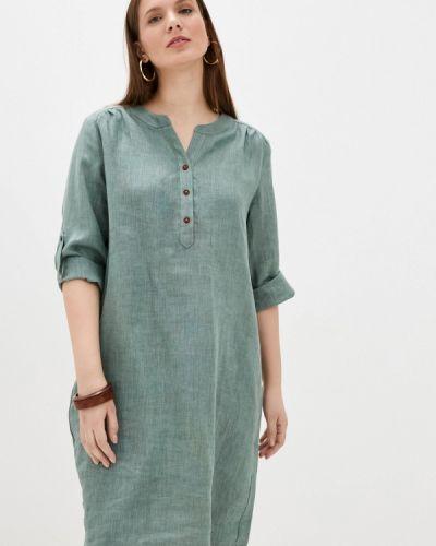 Повседневное зеленое платье Electrastyle