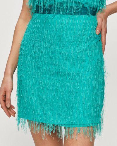Spódnica mini rozkloszowana bawełniana na co dzień Pinko