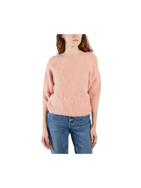 Różowy pulower Ba&sh