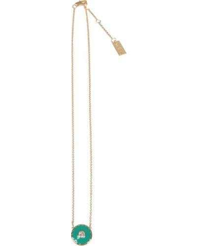 Zielony medalion Marc Jacobs