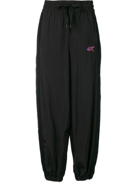 Спортивные брюки с карманами черные T By Alexander Wang