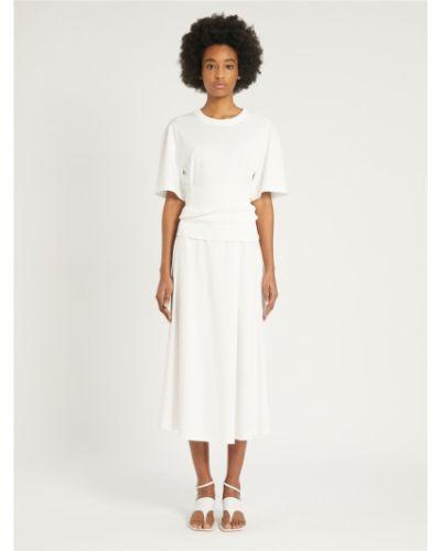 Белое платье Maxmara