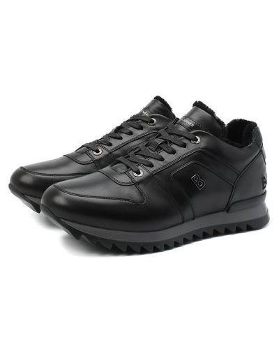 Кожаные кроссовки с подкладкой Bogner