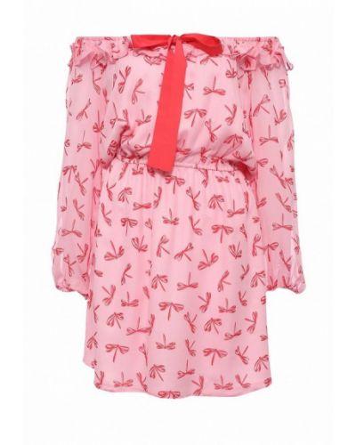 Розовое платье Atos Lombardini
