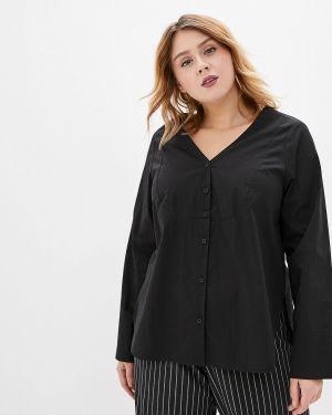 Блузка черная W&b