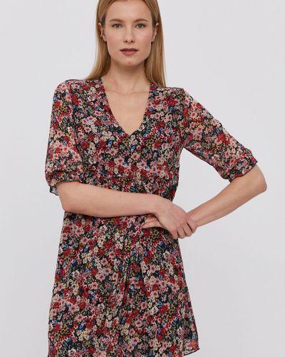 Sukienka mini casual w szpic materiałowa Hailys