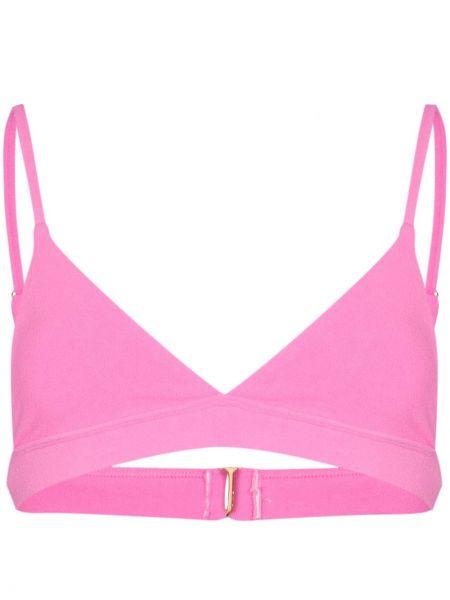 Розовый топ Frankie's Bikinis