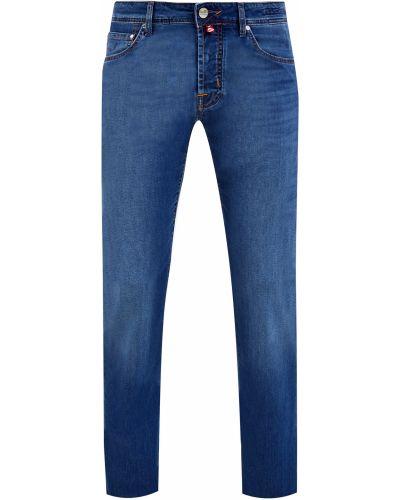 Классические синие джинсы с нашивками на пуговицах Jacob Cohen